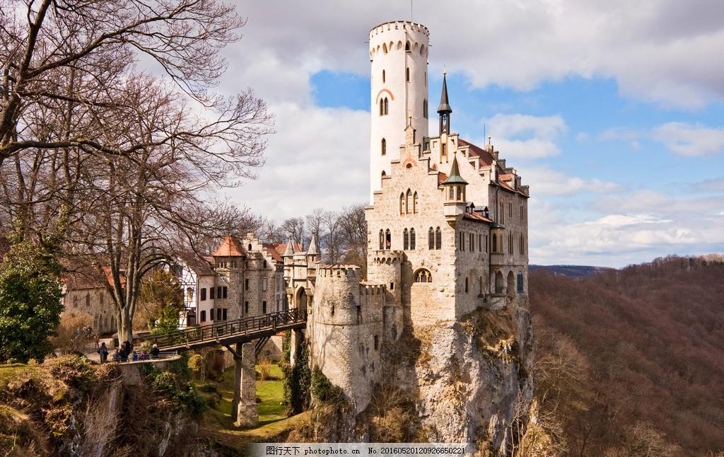 城堡 古堡 庄园 酒堡 酒庄 山顶建筑 房子 山顶城堡 山上的城堡
