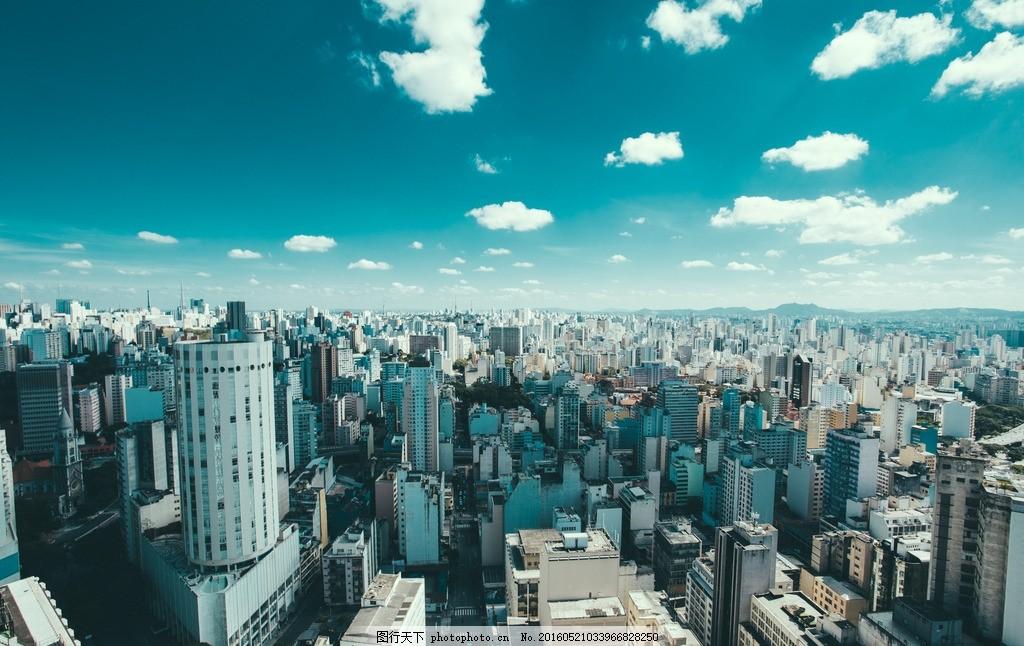 城市景观 建筑 国外 旅游 风光 城市 风景 蓝天 纽约 美国 摄影 摄影