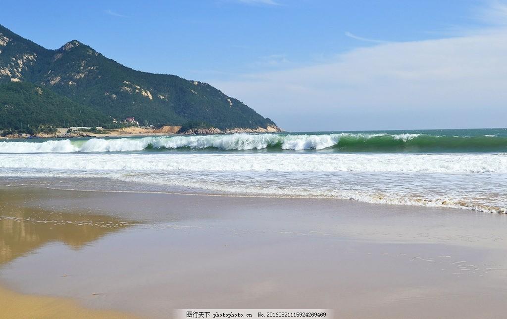 海景 海滩 夏天 蓝天 青岛 摄影 自然景观 自然风景