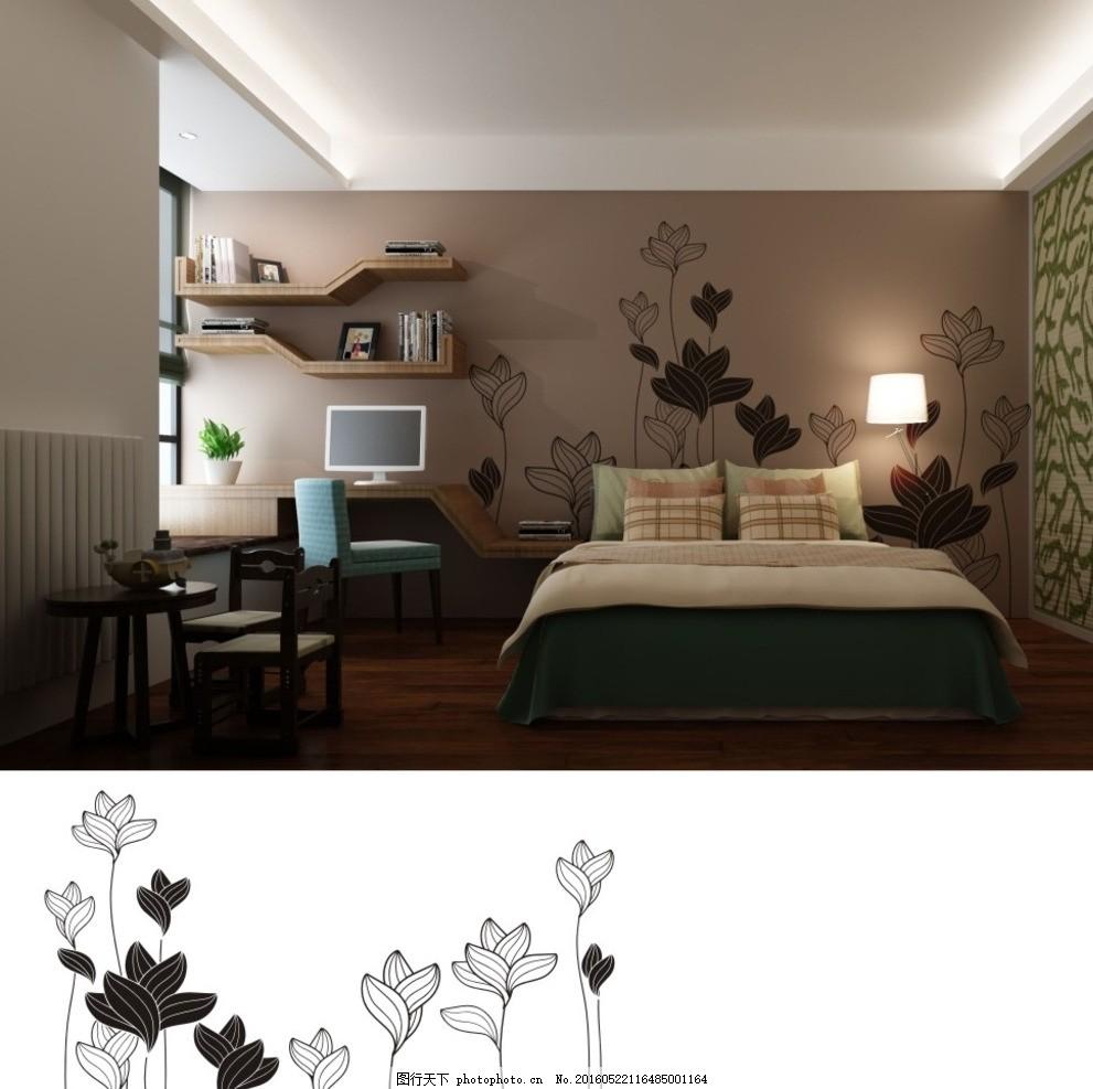 矢量花纹背景 电视墙 中式 背景墙 硅藻泥 经典 欧式 现代 家居