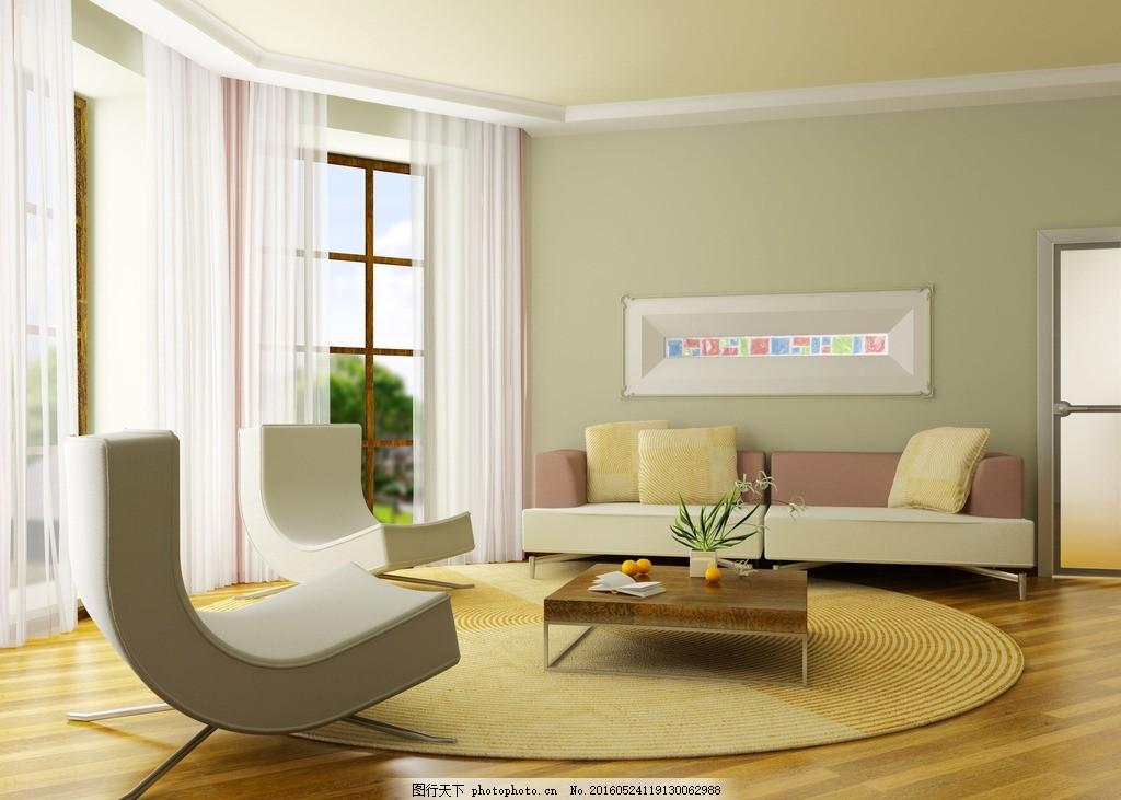 弧形沙发 弧形 沙发 温馨室内 木地板 成角透视 室内 建筑 室内 摄影