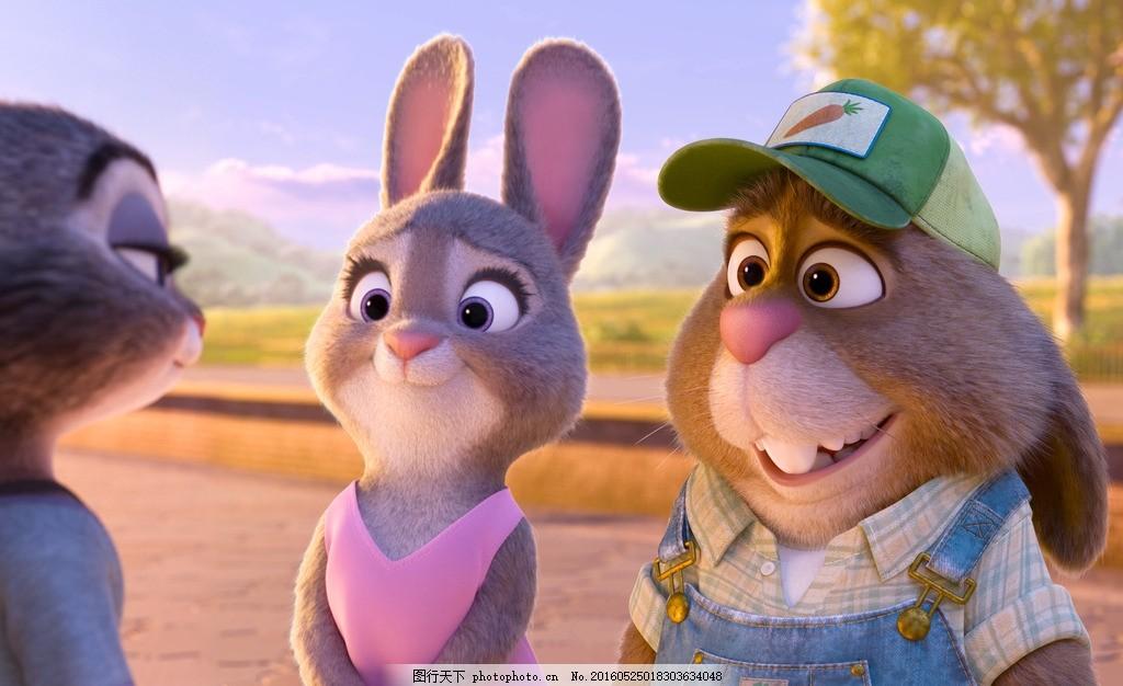 疯狂动物城 动物大都会 动物乌托邦 兔子 迪士尼 动画电影 卡通电影