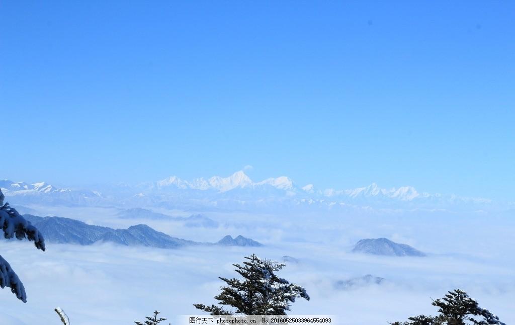 峨眉山 雪景 风景 自然 冬季 峨眉山雪景 雪天 风景专辑2 摄影 旅游