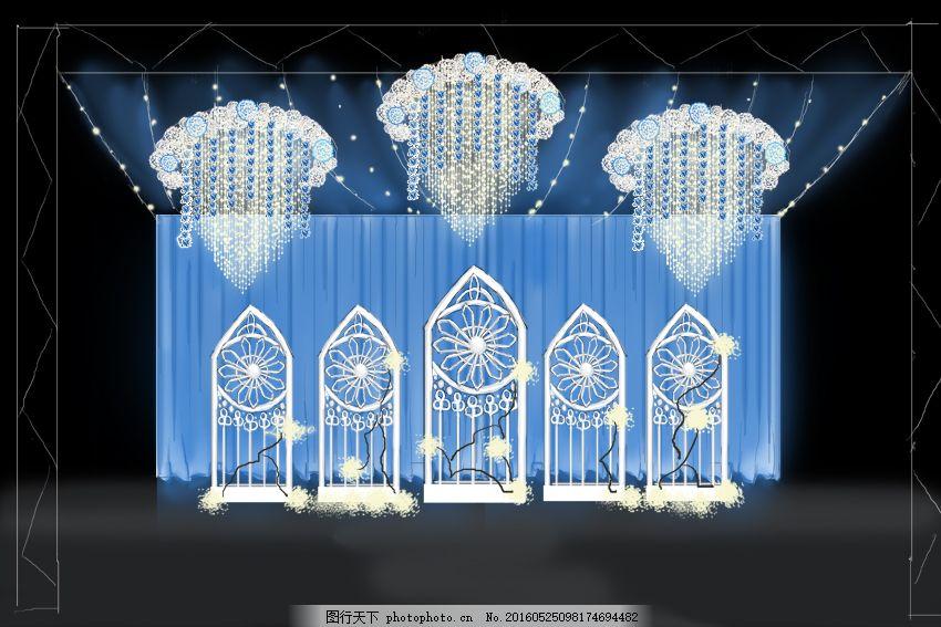吊顶背景 婚礼 婚礼布置 婚礼布置效果图 吊顶效果图 婚礼主背景 婚礼