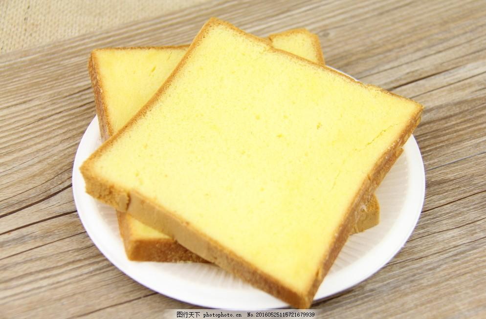 切片面包 蛋糕图片