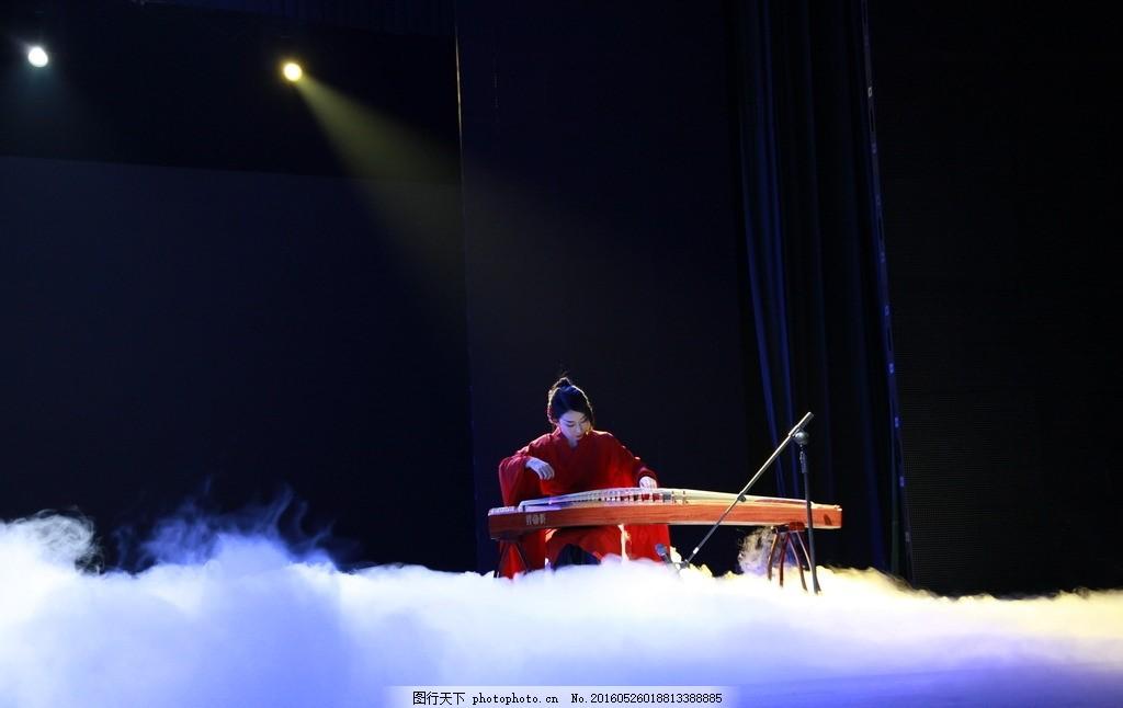 古筝演奏 古装 东方不败 高山流水 舞台 摄影