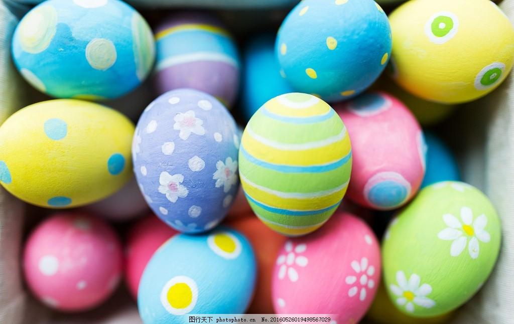 复活节彩蛋 精美花纹彩蛋 复活节 彩蛋花纹 水彩 花纹 儿童彩蛋 彩绘图片