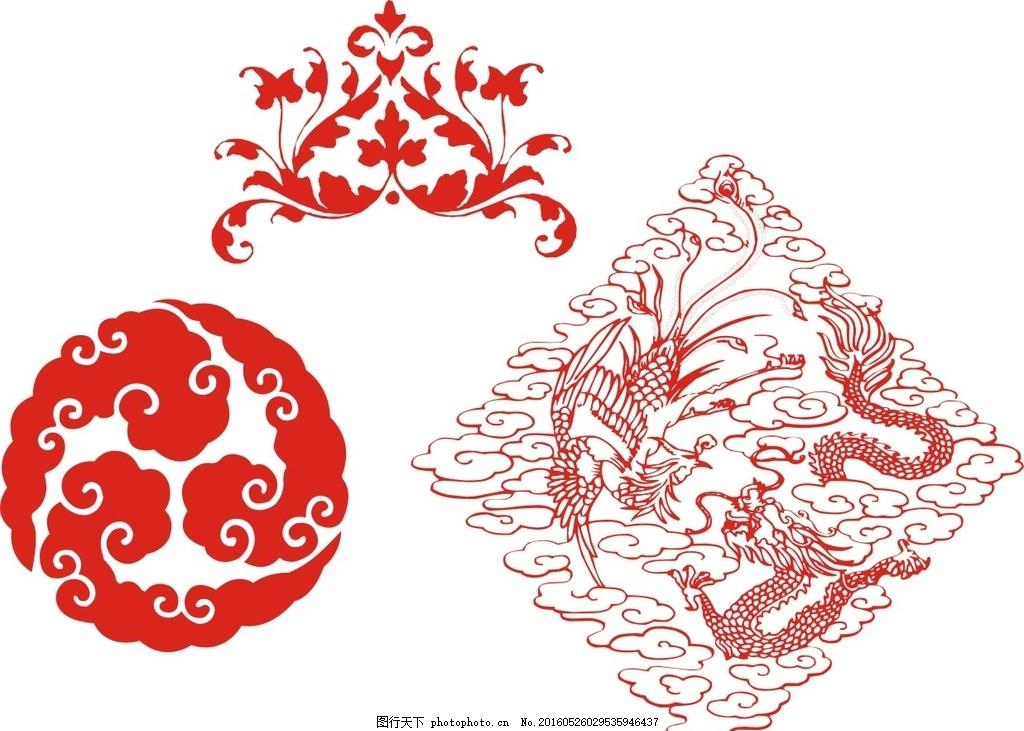 复古 矢量素材 矢量 素材 古代 古风 怀旧 艺术 古典纹样 中国传统