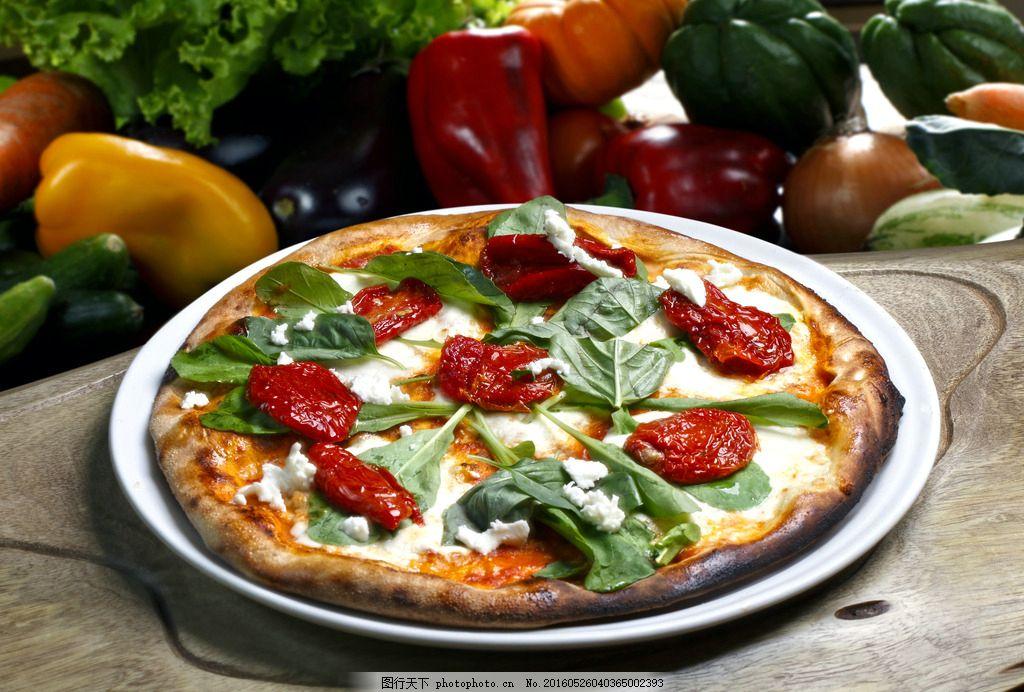 饮食 食物 美食 餐饮 食材 西餐 披萨 烤披萨 素披萨 蔬菜披萨 水果
