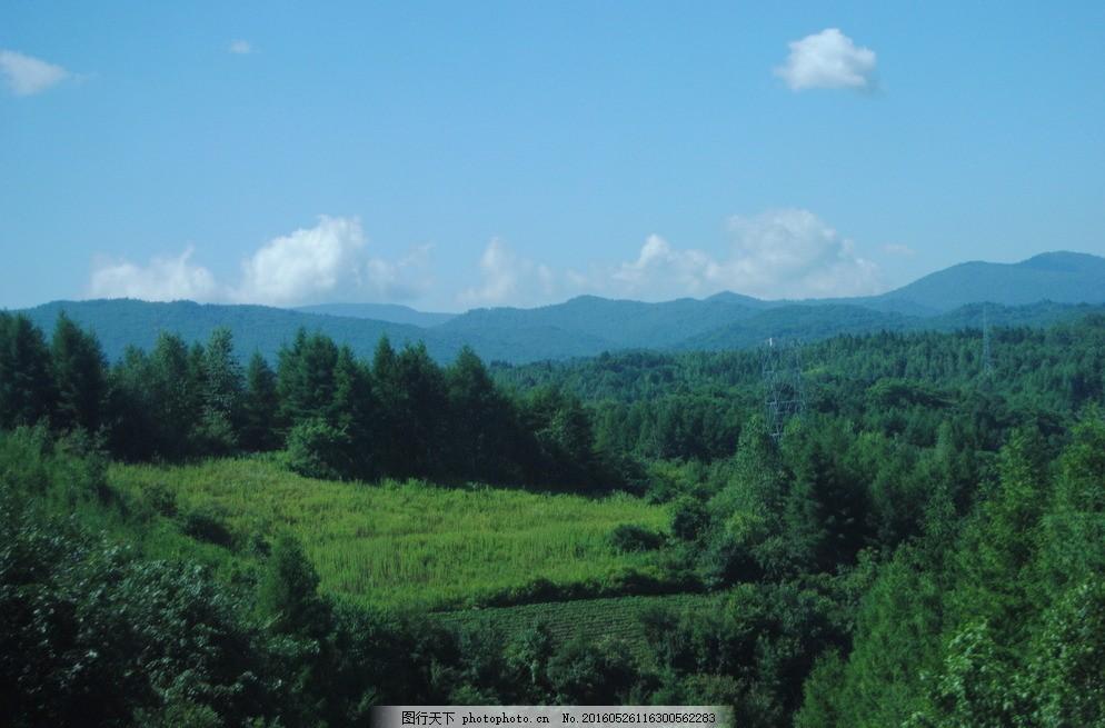 风景 长白山风景 风光 田地 美景 摄影 旅游摄影 自然风景 300dpi jpg