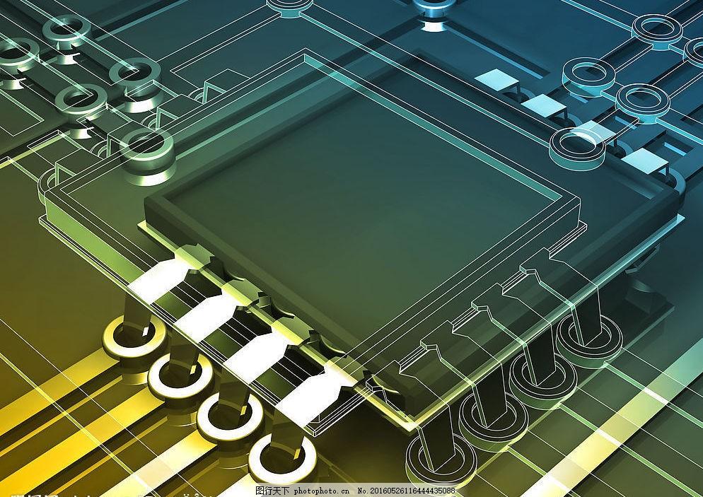 线路板 电脑线路板图片 集成板 电路板 工业 现代科技 工业生产