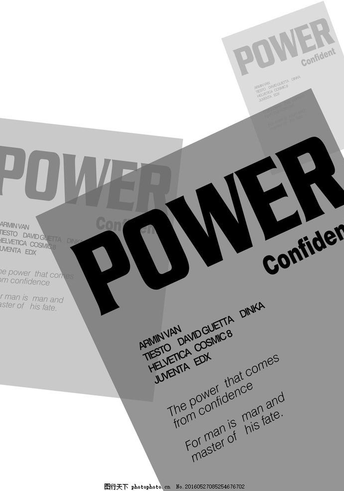 版式设计 英文版式 字体设计 字体编排 其他 图片素材 广告设计