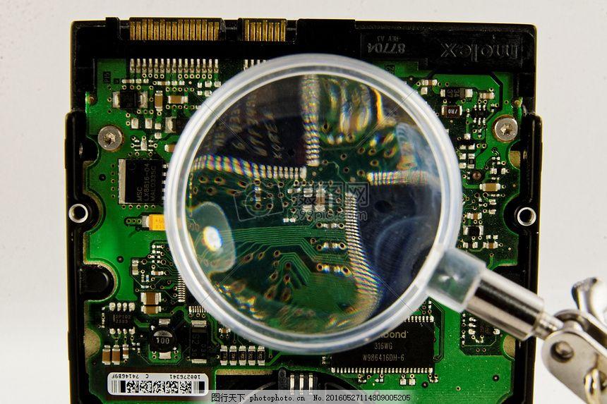 维修内部的零件 放大镜 零件 电路板 技术 工具     红色 jpg