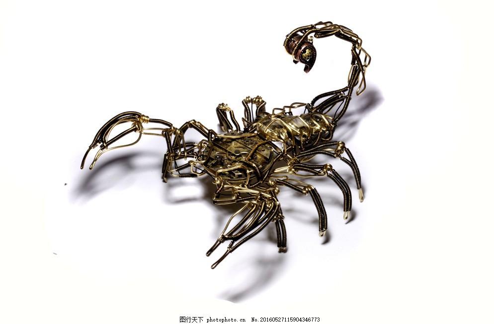 金属蝎子 摄影图片 摄影素材 艺术品 艺术作品 图片素材 设计素材
