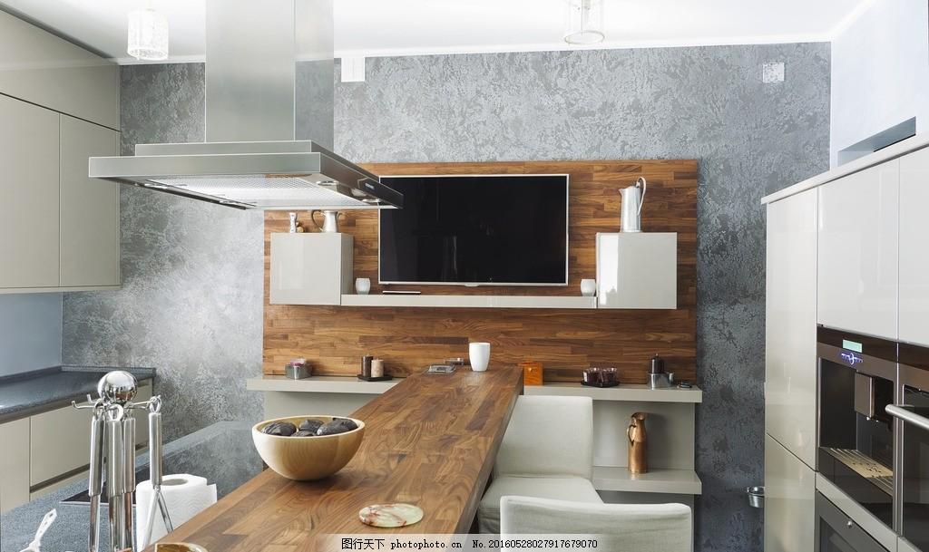 唯美厨房 唯美 炫酷 家居 家具      欧式 简洁 简约 木桌子 设计