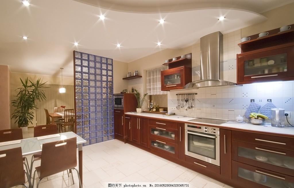 唯美厨房 炫酷 家居 家具 欧式 简洁 简约 白色系 暖黄色 环境设计