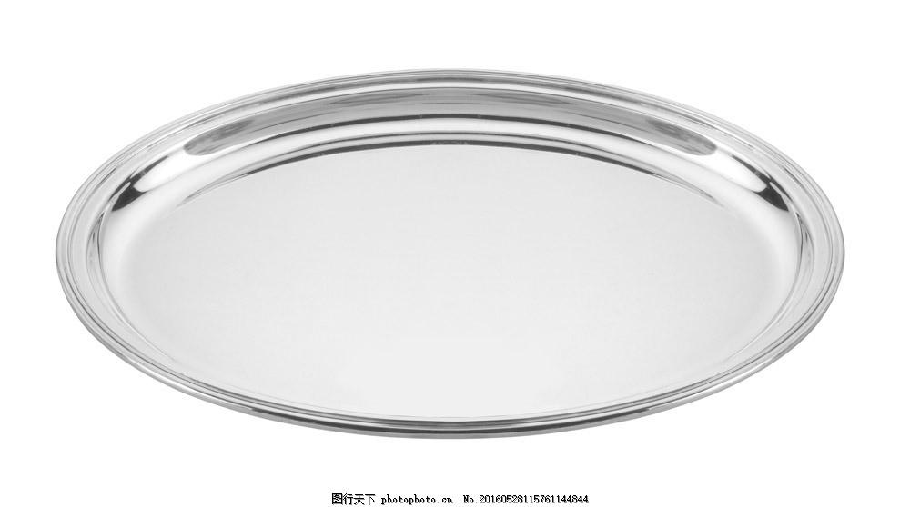圆形餐盘图片素材 盘子 餐盘 圆盘 金属盘子 金属餐盘 餐具 厨具 餐具