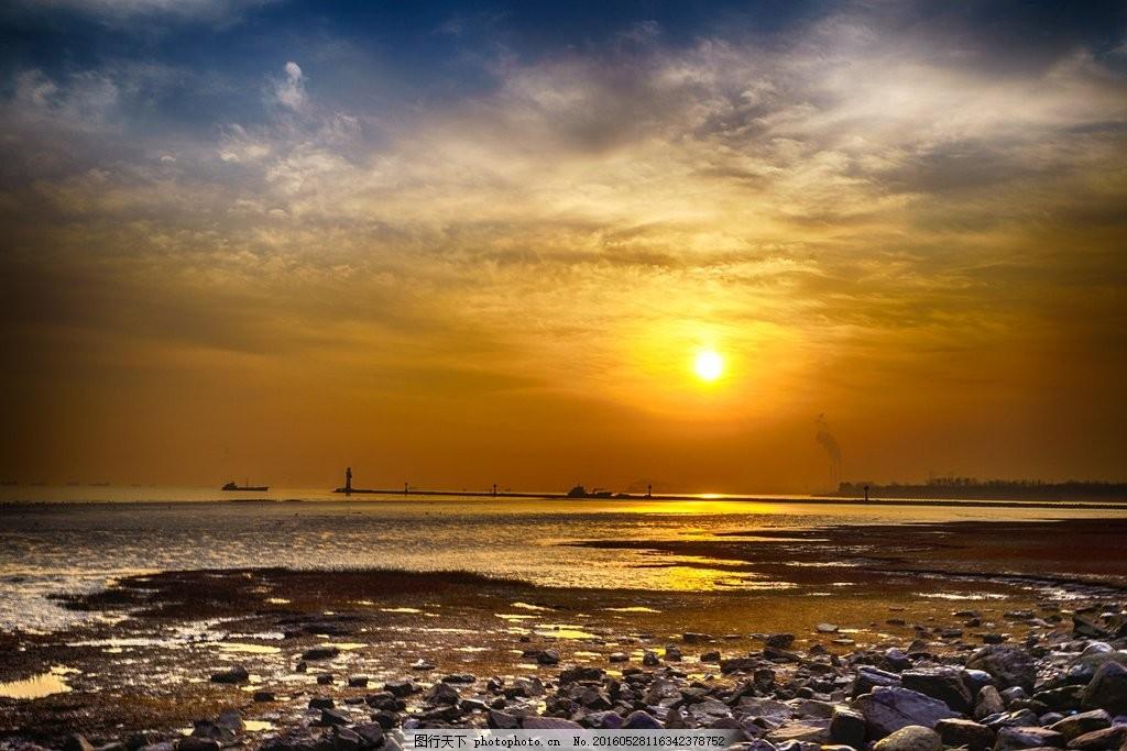 海边日出风景图片