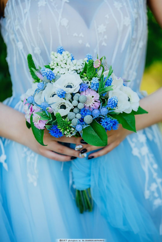 欧式新娘手捧花图片