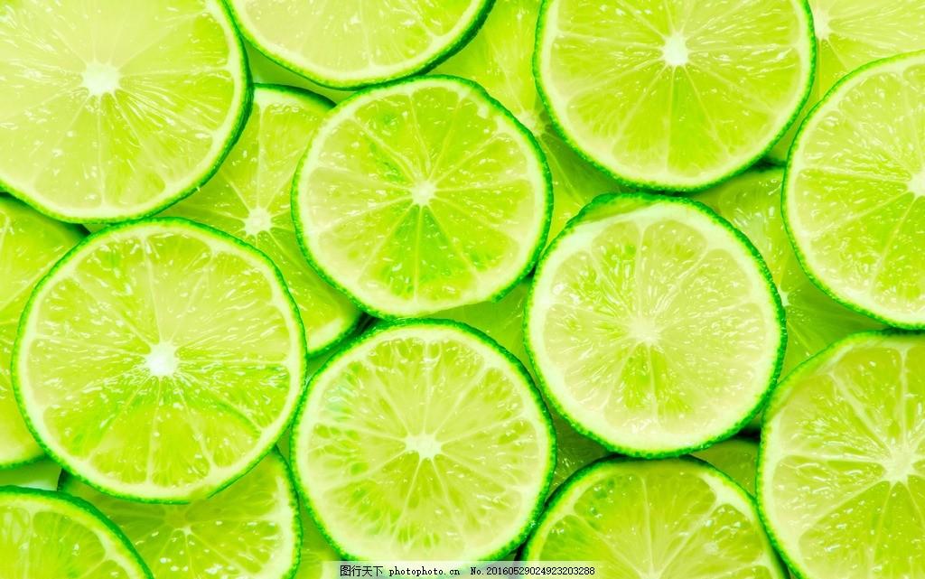 果实 果子 清爽 水果 水果摄影 高清柠檬 满屏柠檬 铺满青柠檬 背景