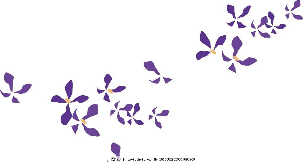 矢量兰花素材 中国风兰花 手绘素材 手绘兰花 兰花矢量素材 兰花矢量