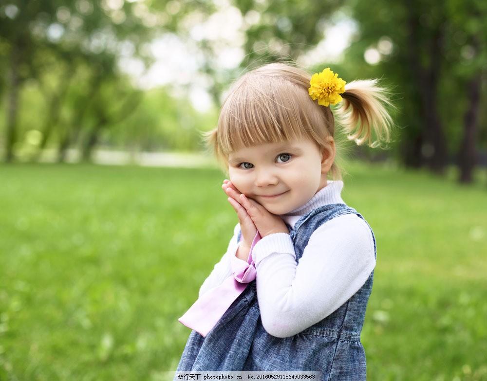 可爱外国小女孩图片