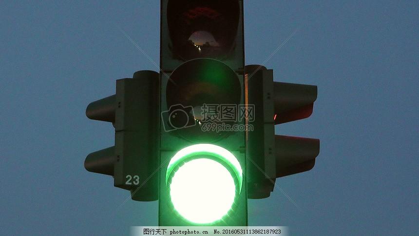 红绿灯 绿色 路 信号灯 交通 光 交通信号 路标 光信号 红色