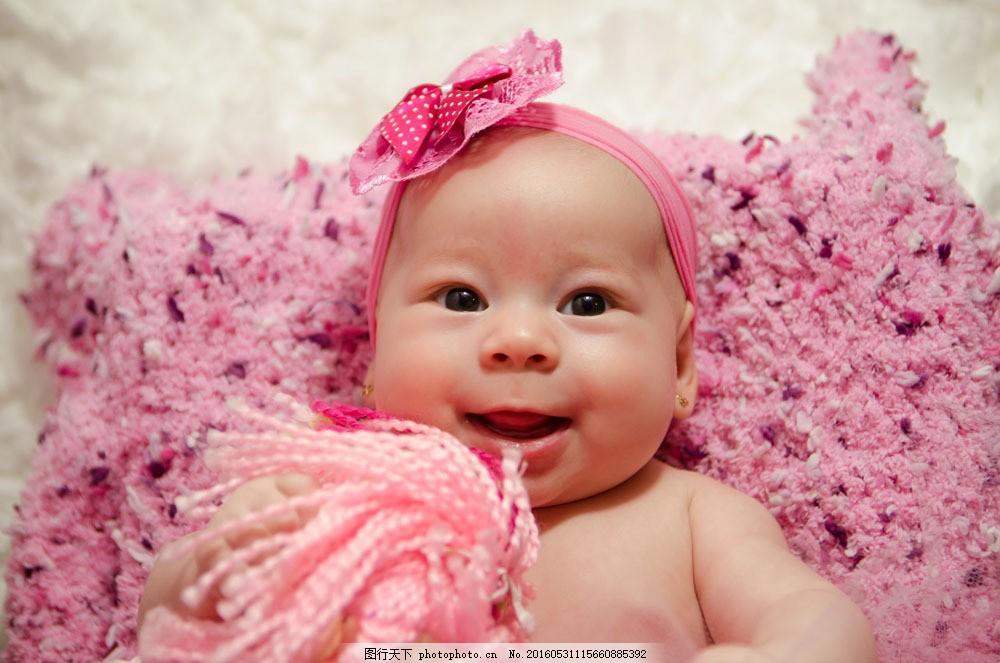 粉色可爱婴儿图片素材 宝宝 婴儿 出生婴儿 快乐儿童 小孩子 baby