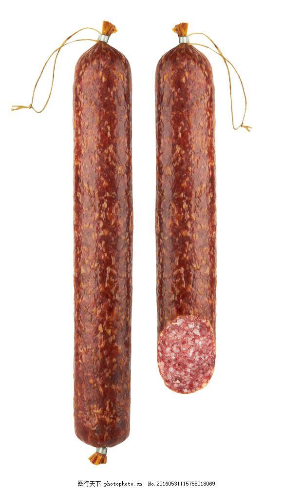 腊肠 腊肠图片素材 火腿肠 肉食 食物 食材 美食 外国美食 餐饮美食