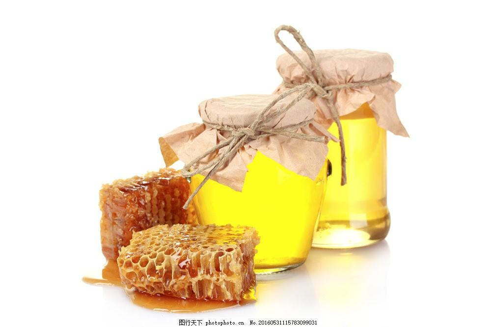 蜂蜜图片素材 蜂蜜 蜜糖 蜜罐 罐子 美味 传统美食 蜂巢 蜂窝 美食
