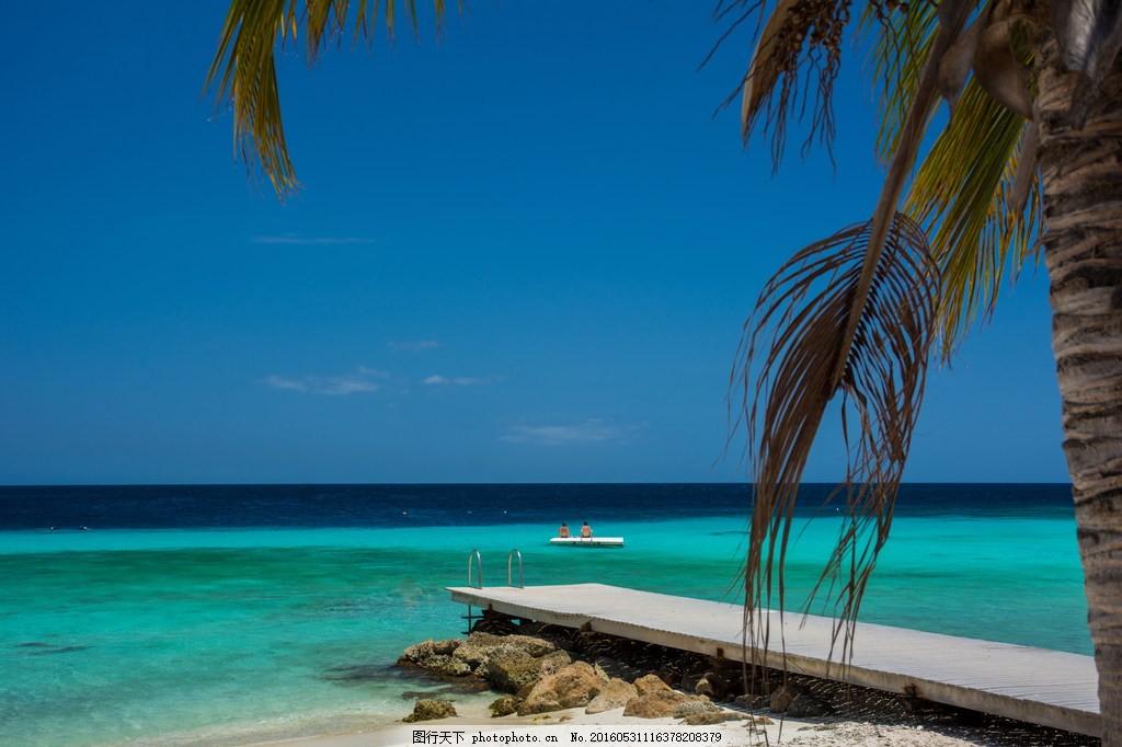 热带海边风景图片