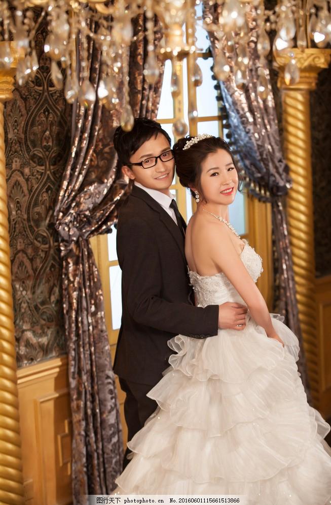 婚纱照 摄影 结婚照 浪漫 大气 豪华 欧洲 人物图库 人物摄影图片