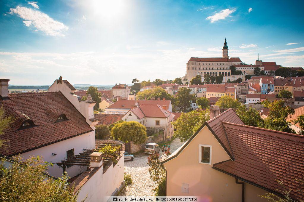 高清欧洲小镇建筑图片图片