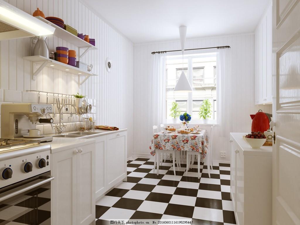 厨房餐厅效果图片素材 装修