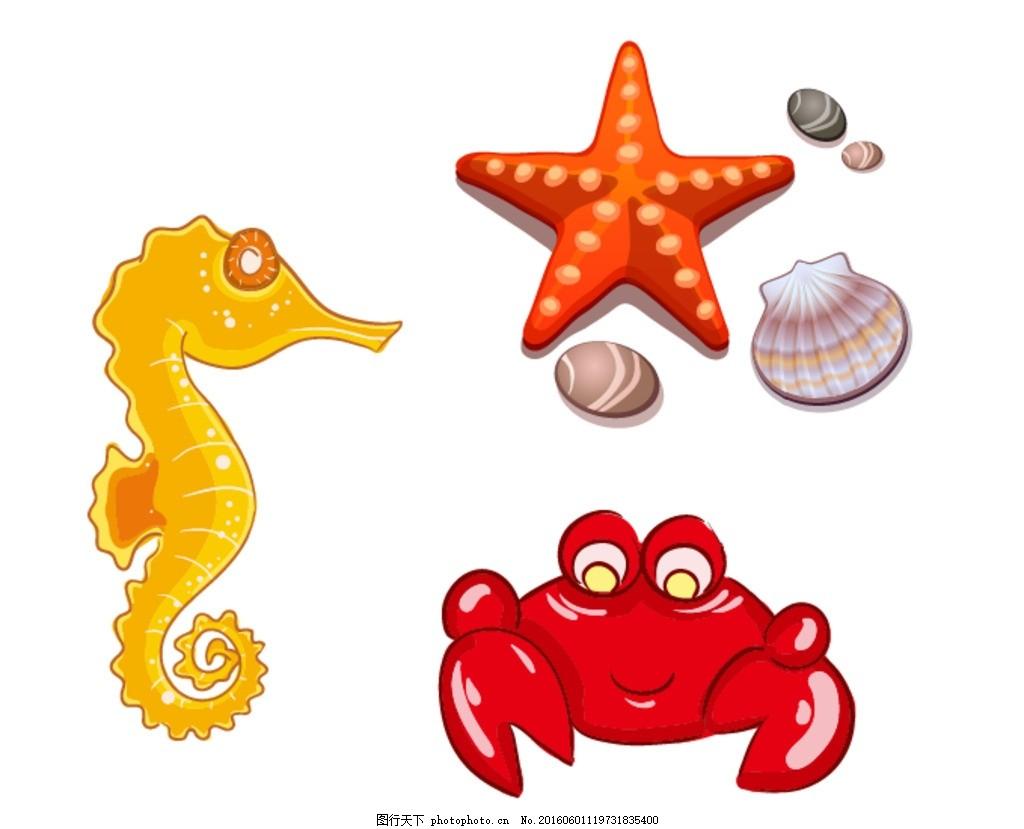 螃蟹图案大全图片