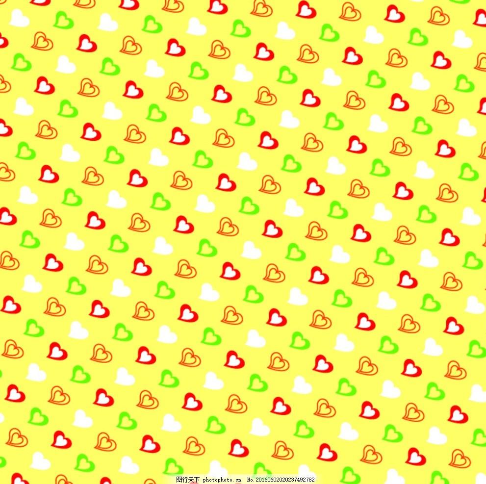 手工纸 碎花 图形 矢量图形 分层文件 心形 手工折纸类 设计 底纹边框