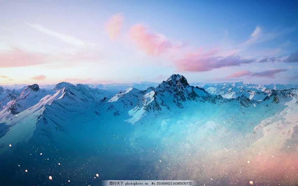 最美雪山风景图片大全