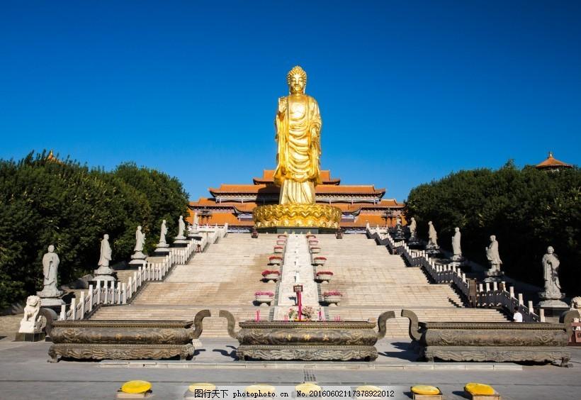 新疆红光山大佛寺风景
