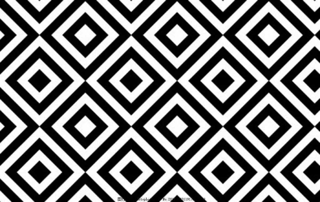 布莱克的平方菱形图案 图案 重复的图案 菱形 黑色正方形 ai
