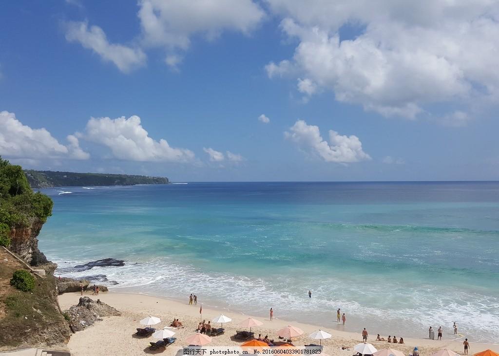 梦幻岛沙滩 巴厘岛 无边游泳池 海水之间 摄影 国外旅游