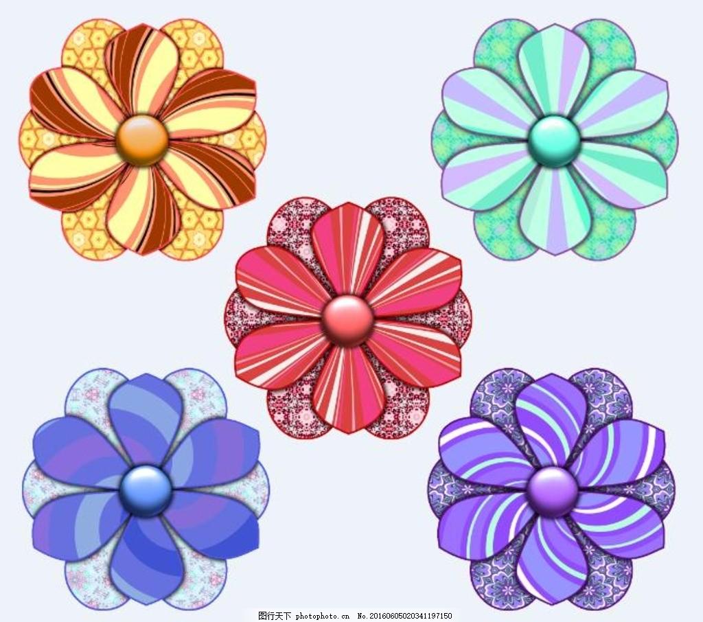 剪纸艺术花朵png 剪贴簿 废料 剪纸艺术 花 可爱 风车 春 图标 元素