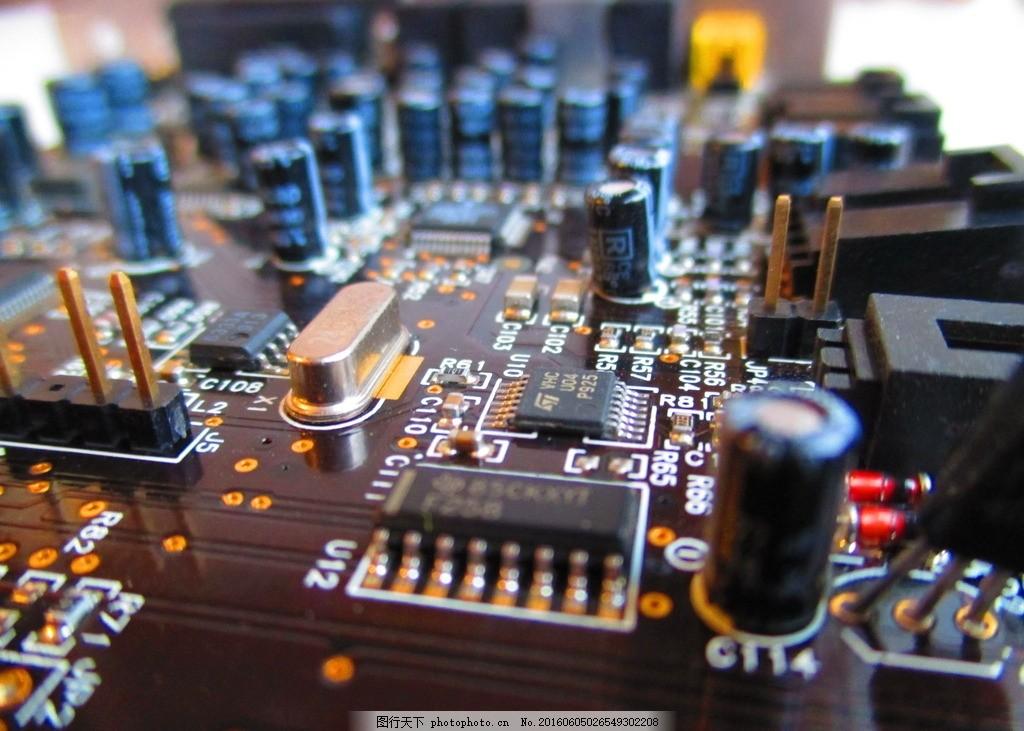 唯美 炫酷 科技 芯片 集成电路 摄影 现代科技 科学研究 72dpi jpg