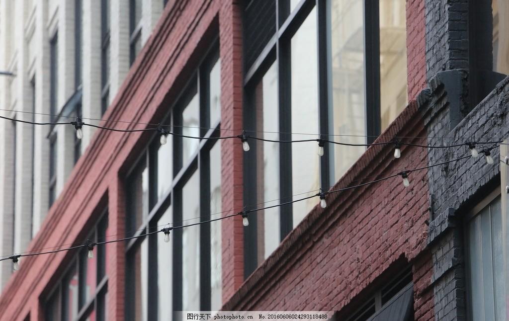 窗户 玻璃 建筑 高楼 电线 素材天下 摄影 建筑景观