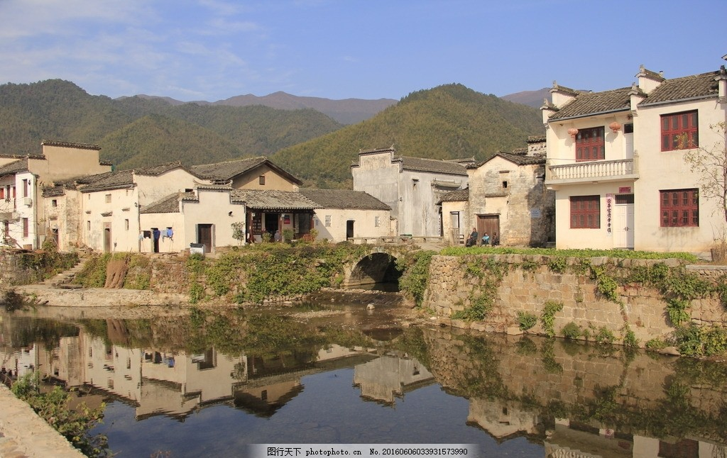 宏村建筑马克笔手绘