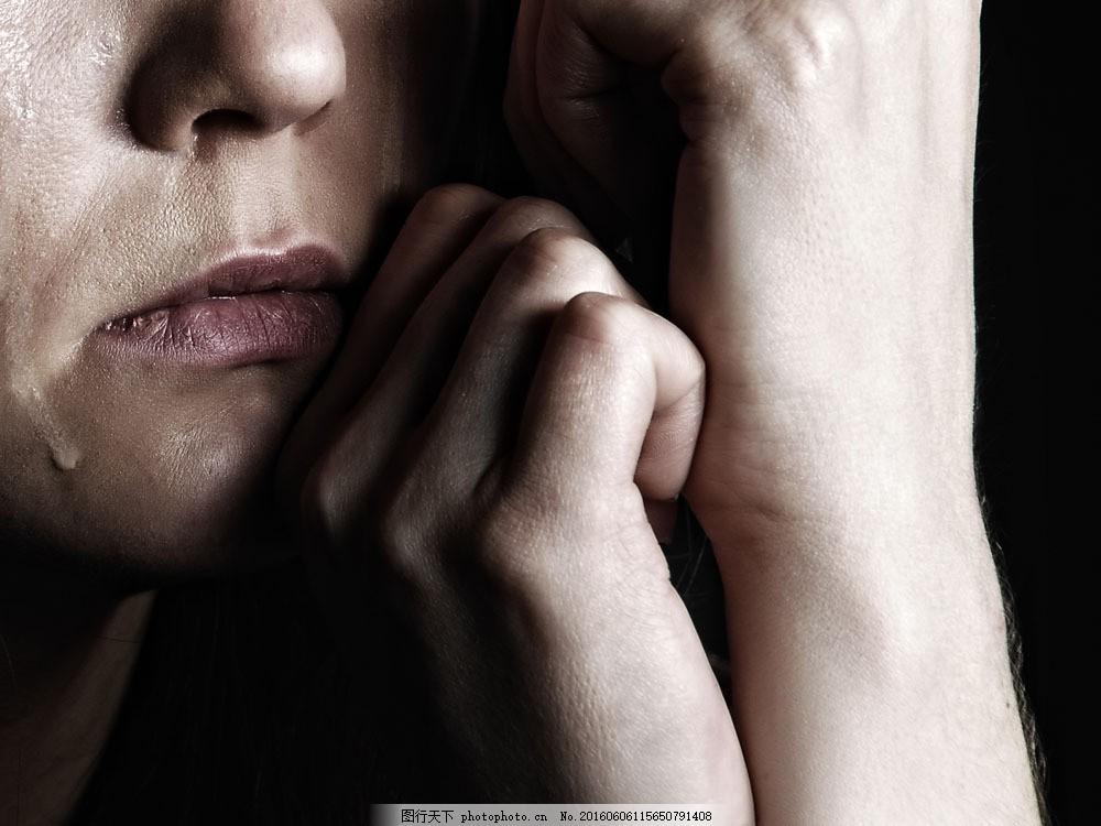 伤心流泪的美女 伤心流泪的美女图片素材 伤心的女人 哭泣的女人