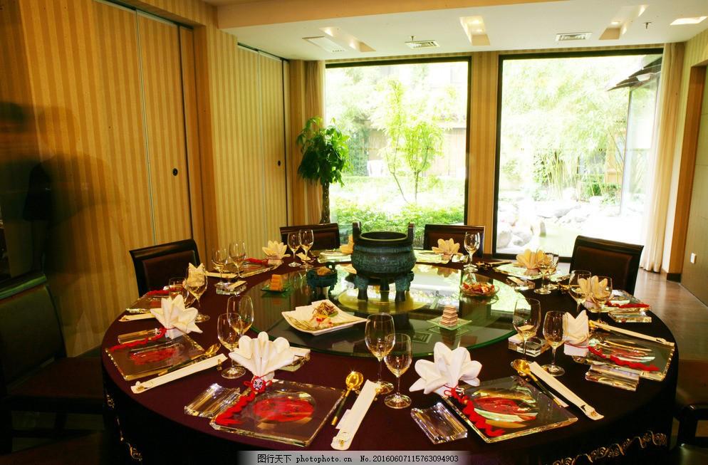 酒店包间 酒店餐桌 餐厅 中式餐厅 餐具 菜品 点彩 宴席 婚宴图片