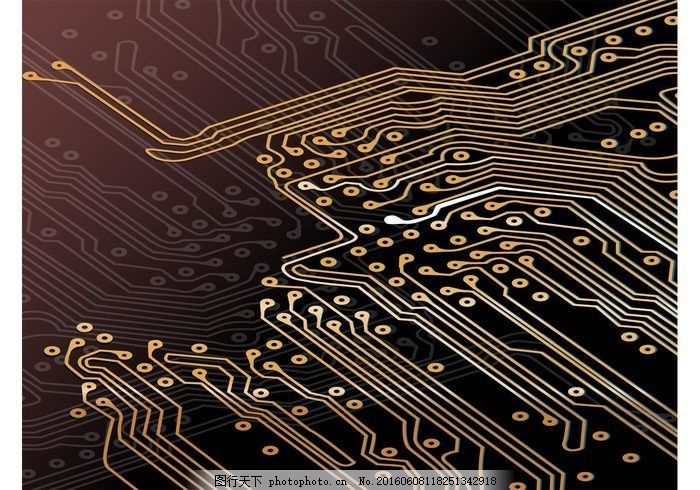 电路板 网络 圆 墙纸 抽象 背景 技术 计算机 互联网 设备 在线 线路