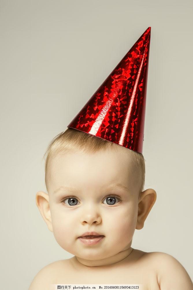 戴帽子的可爱宝宝图片素材 宝宝 小孩 可爱小男孩 baby 可爱儿童 宝宝