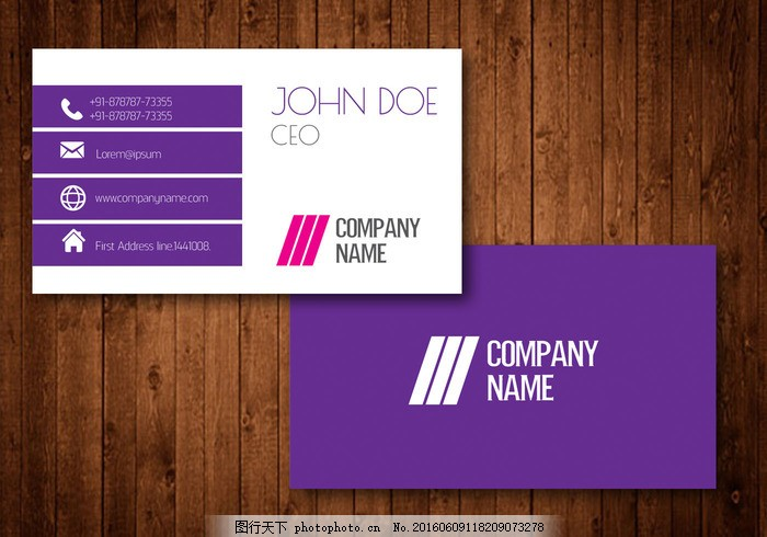 有创意的名片 名片 商业 设计 现代 布局 名称 抽象 图标 矩形 三角形
