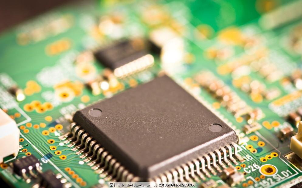 芯片 科技 电脑主板 电路板 电子元件 主机板 工业 工业生产